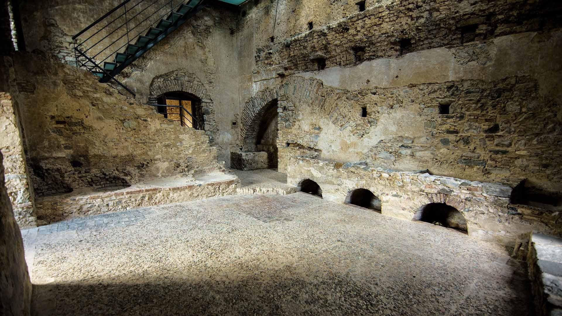 Castello Svevo di Rocca Imperiale - la cucina