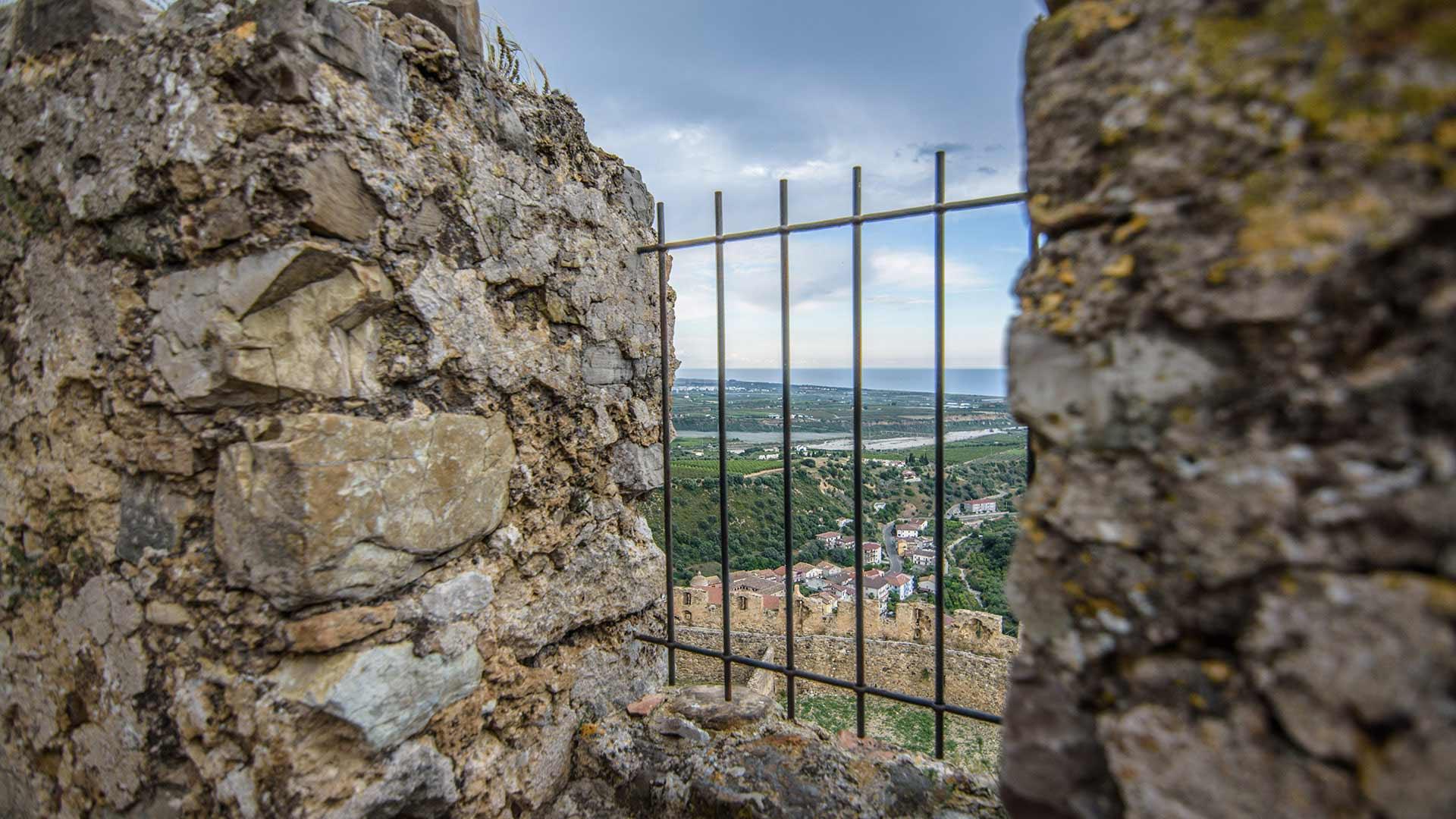 Castello Svevo di Rocca Imperiale - vista dalla torre