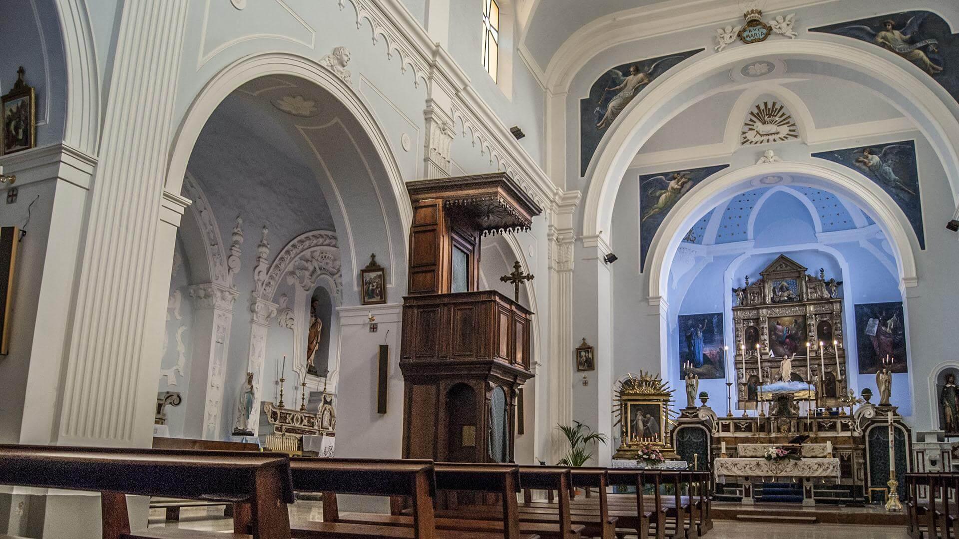 Rocca Imperiale - Chiesa Madre interno