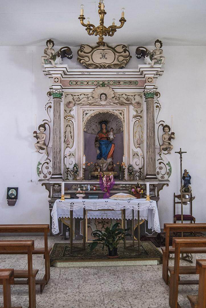 Rocca Imperiale - Chiesa Madre, statua