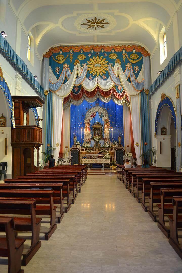 Rocca Imperiale - Chiesa Madre, interno