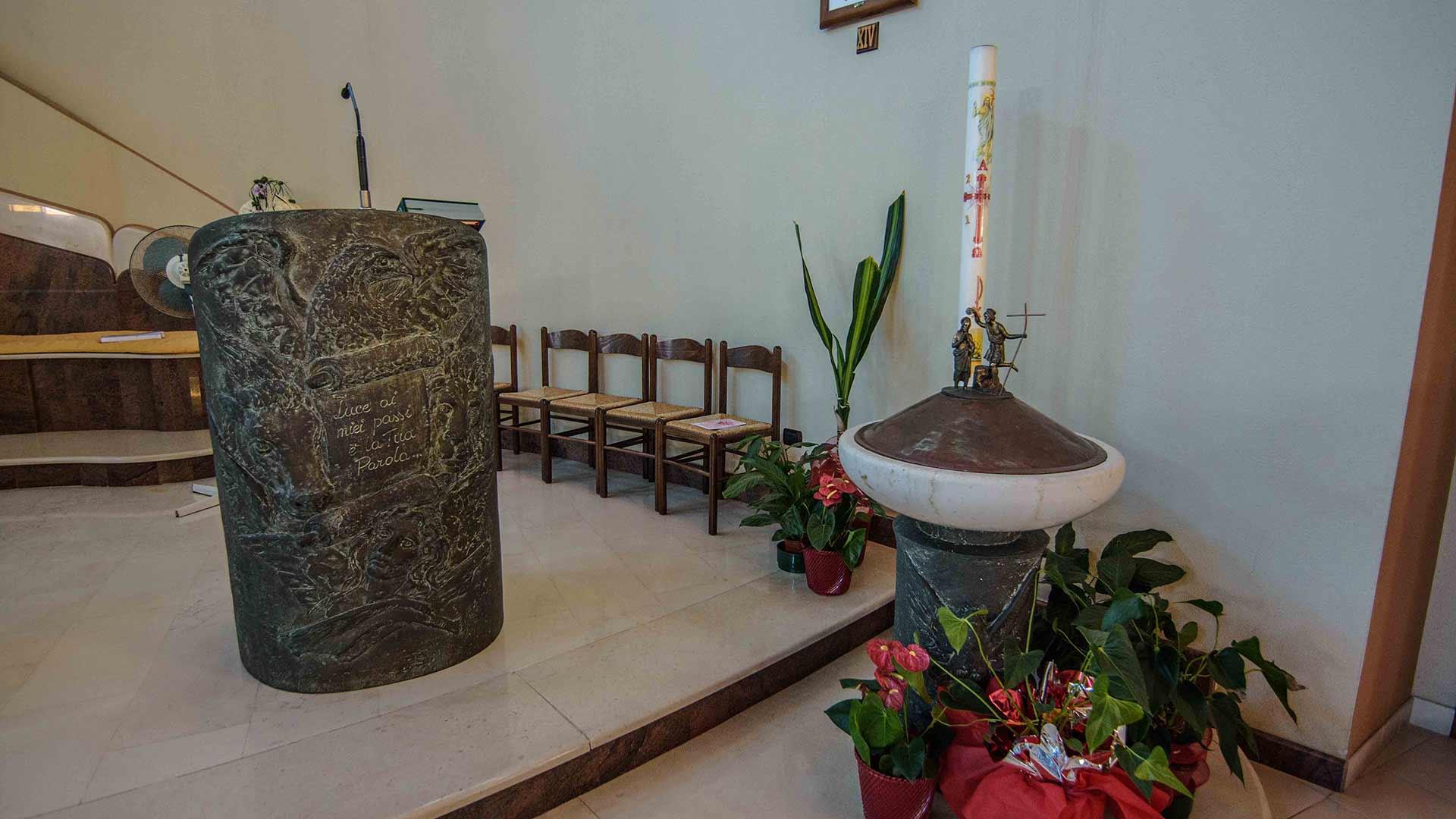 Chiesa di Rocca Imperiale marina, pulpito
