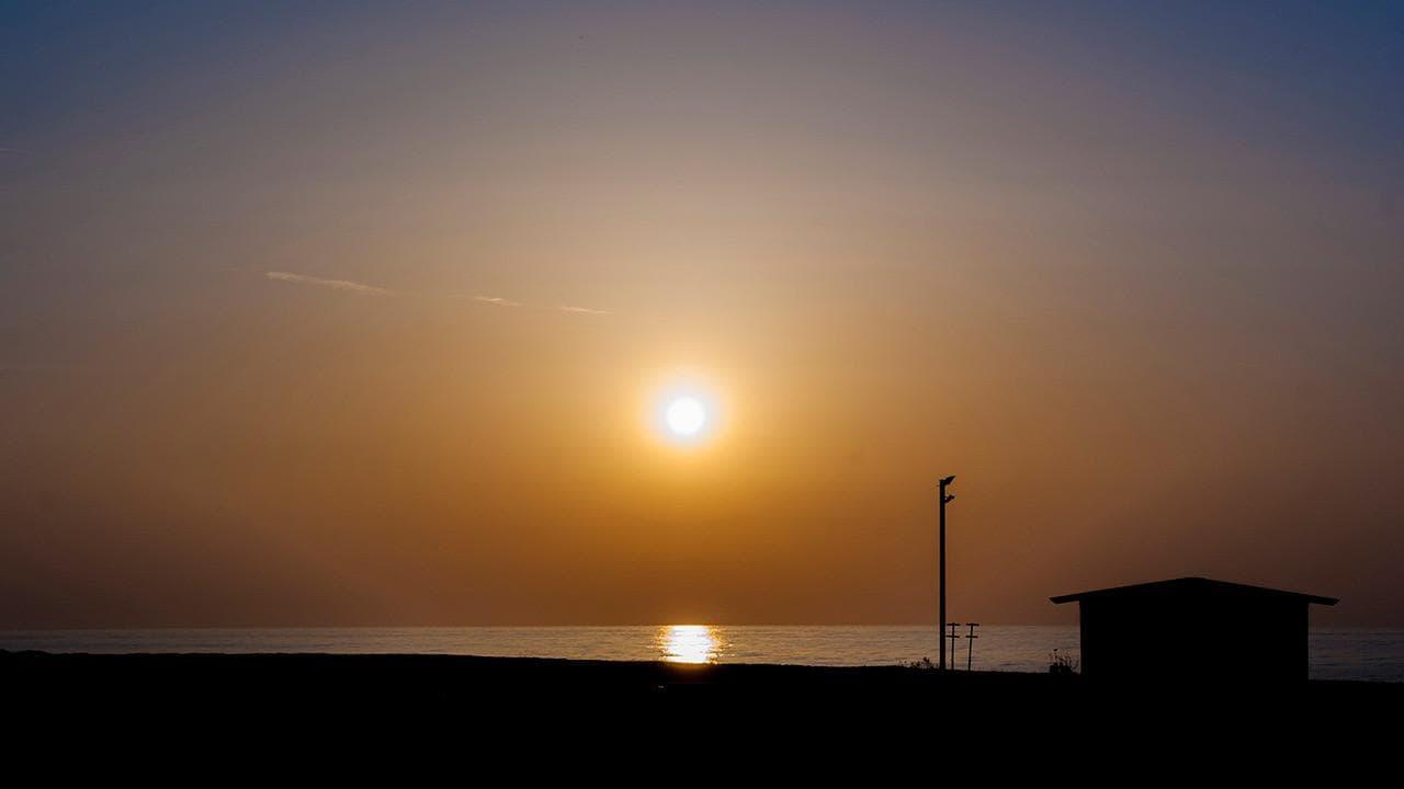 Spiagge di Rocca Imperiale - alba sul mare