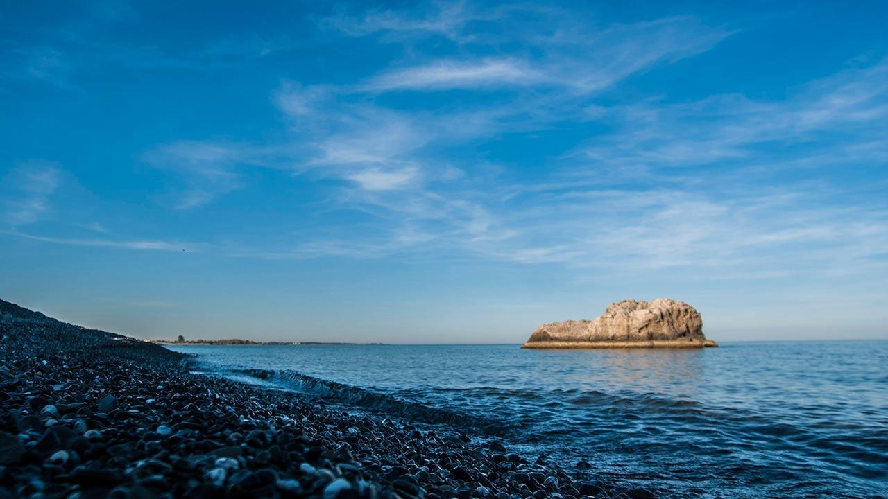 Spiagge di Rocca Imperiale - Scoglio di Pietra Cervaro